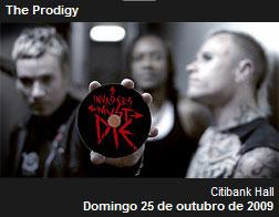 Ingressos para o Show do Prodigy no Rio de Janeiro – Citibank Hall