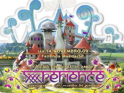 eletrohitz, eletro hitz, musica eletronica, musica eletronica 2009, house music, trance, psy, balada, night club,rebolation, Line UP OFICIAL - XXXPERIENCE 13 Anos!