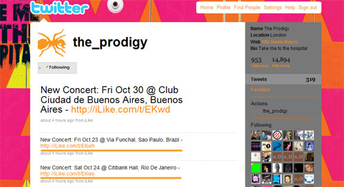 The Prodigy - Twitter Oficial Confirma Show no Brasil