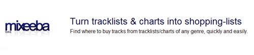 Mixeeba: Busca por Músicas Eletrônicas, Loja Virtual de Música