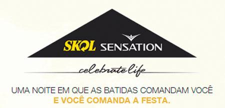 LINE UP SKOL SENSATION 2012 - ATRAÇÕES