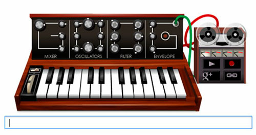 "Robert Arthur ""Bob"" Moog, Criador de sintetizador é homenageado no Google"