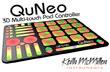 QuNeo – 3D Multi-touch Pad Controller inovando tecnologia touch