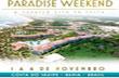 PARADISE WEEKEND – Festival de e-music na Bahia